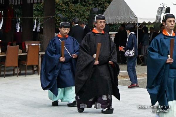宮崎神宮大祭にて