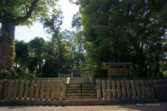 ご陵墓(可愛山陵)