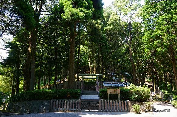 ご陵墓(高屋山上陵)