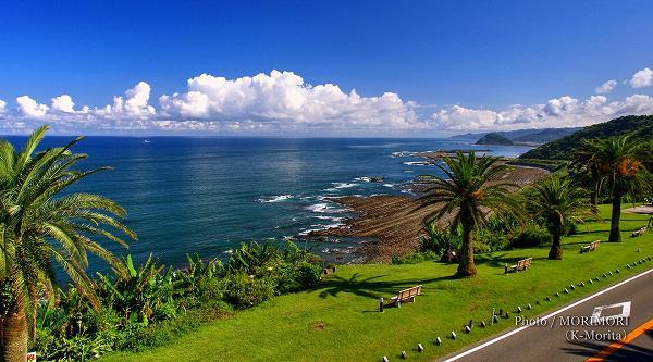 日南海岸の景色