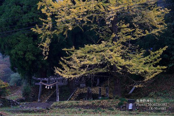 鬼神野神社(美郷町南郷)
