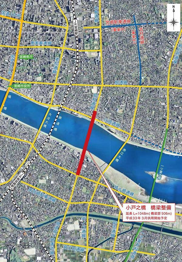 小戸之橋 地図