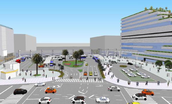 宮崎駅西口駅前広場<br /> 再整備 基本計画(平成31年3月)より
