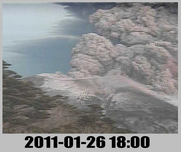 2011年 新燃岳噴火 1月26日