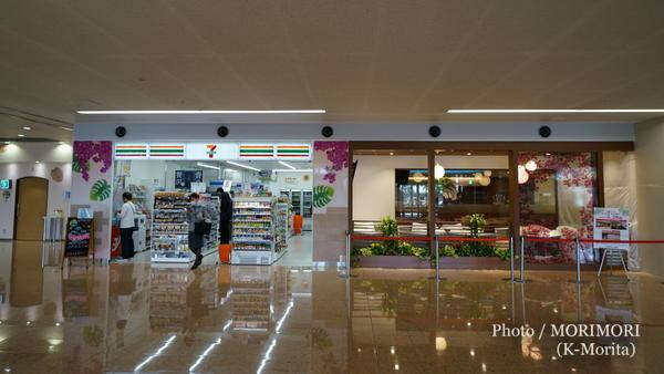 宮セブンイレブン宮崎ブーゲンビリア空港店(左)