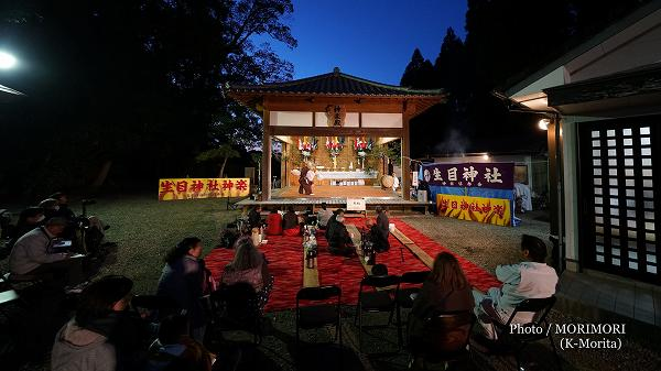 生目神社 神楽殿(平成31年)