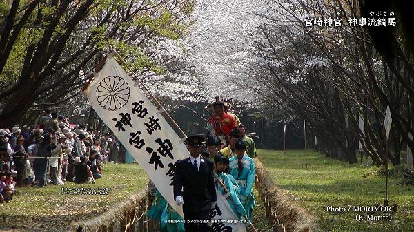 宮崎神宮 神事流鏑馬(やぶさめ) 馬場入りの儀