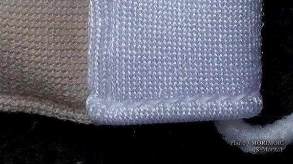 「サザン株式会社」マスク縫製アップ