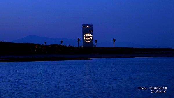 シェラトン・グランデ・オーシャンリゾートでライトアート Light For Hope