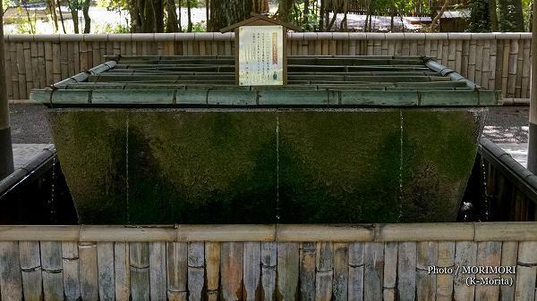 宮崎神宮 手水舎(ちょうずや)