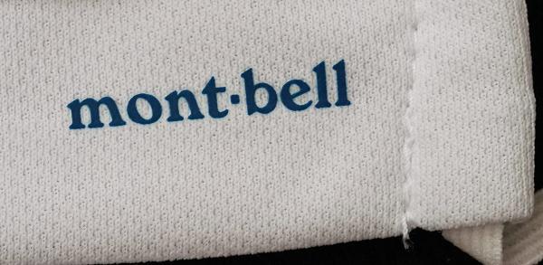モンベル(mont-bell)ウイックロンポケマスク mont-bellロゴ