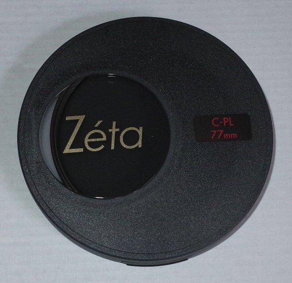 Zeta(ゼータ) ワイドバンド サーキュラーPL 77mm ケース