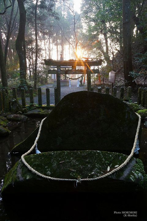東霧島神社「神石」