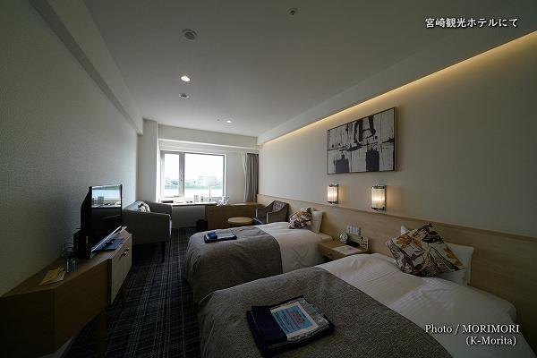 宮崎観光ホテル 客室 西館