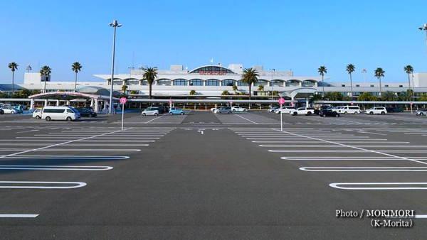 宮崎空港 駐車場