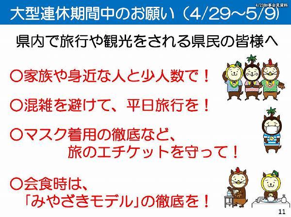 大型連休期間中のお願い(4/29〜5/9)