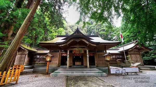 高千穂神社(宮崎県高千穂町)