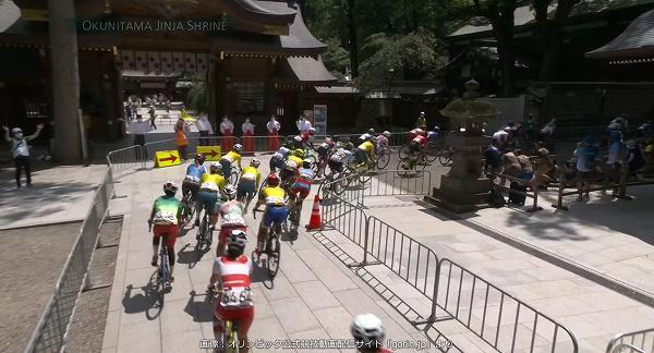 東京オリンピック 自転車競技(ロード) 大國魂神社